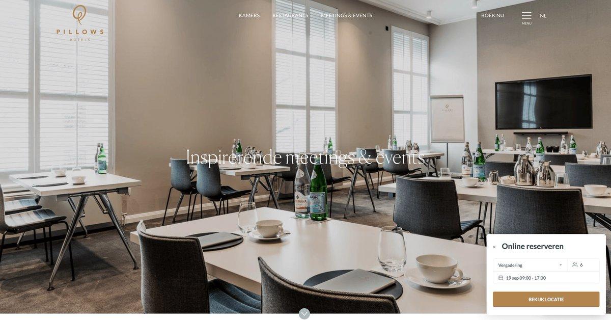 test Twitter Media - Om meeting venues en hotels te ondersteunen bij het herstel, introduceert Venuesuite de website boekingswidget. Met deze widget kunnen venues via hun eigen website gemakkelijk online geboekt worden voor bijeenkomsten. https://t.co/myM1ATUt81 https://t.co/I8y1BQ691a