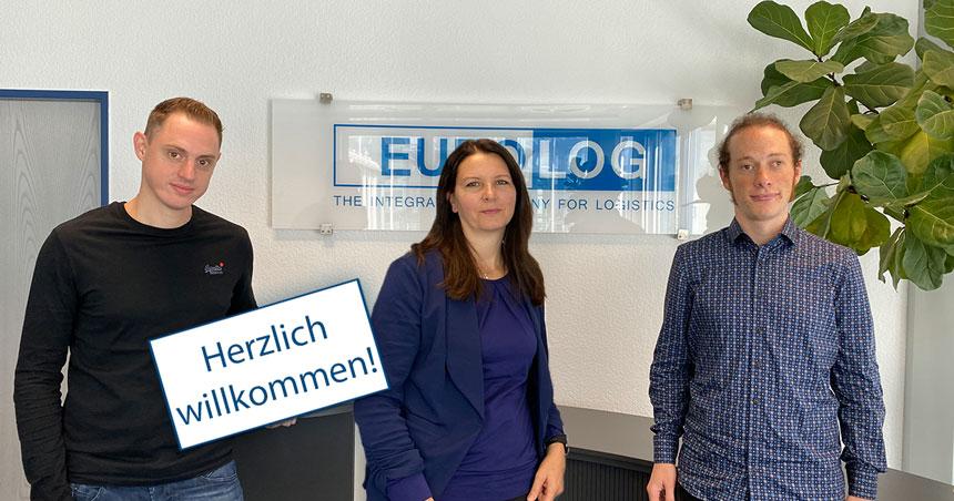 Ein herzliches #Willkommen an unsere neuen #Team-Mitglieder: Eno (Entwicklung), Yvonne (Produkt- und Projektmanagement) und Felix im QACB! Wir wünschen euch einen guten Start bei EURO-LOG und dazu noch jede Menge Spaß! #welcome #teamwork #saycheese #karriere https://t.co/28Y7V5LaG2