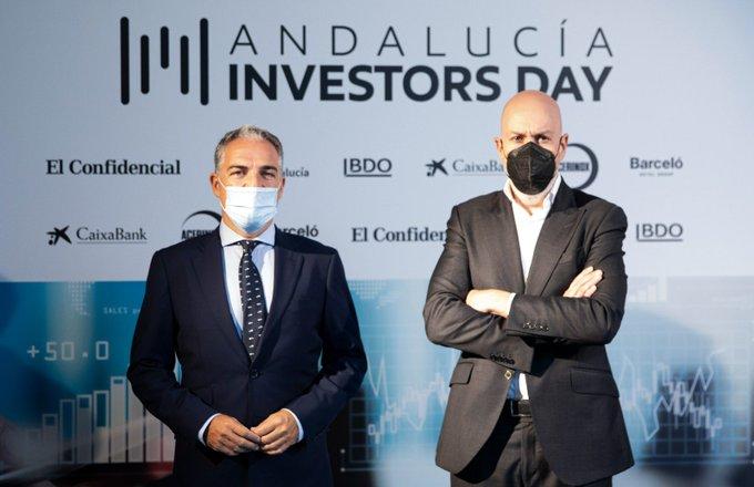 Elías Bendodo quiere que Andalucía sea una autopista para la inversión