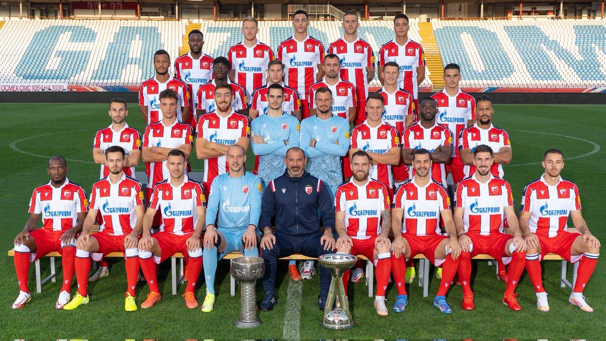 FK Crvena zvezda 2021/22 😍 🔴⚪#fkcz