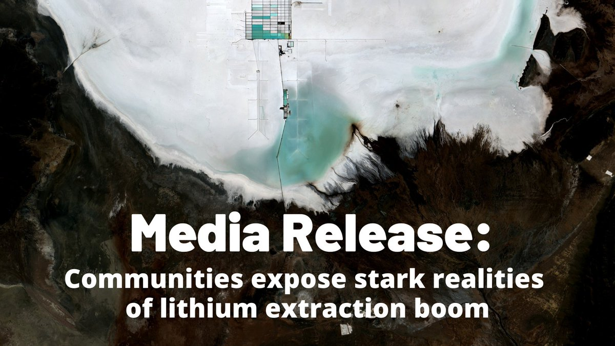 Thread: On the frontline of #lithium extraction. In this short #thread we unpack some of the key points from @_YLNM Lithium's new communique, released today. yestolifenotomining.org/latest-news/me…