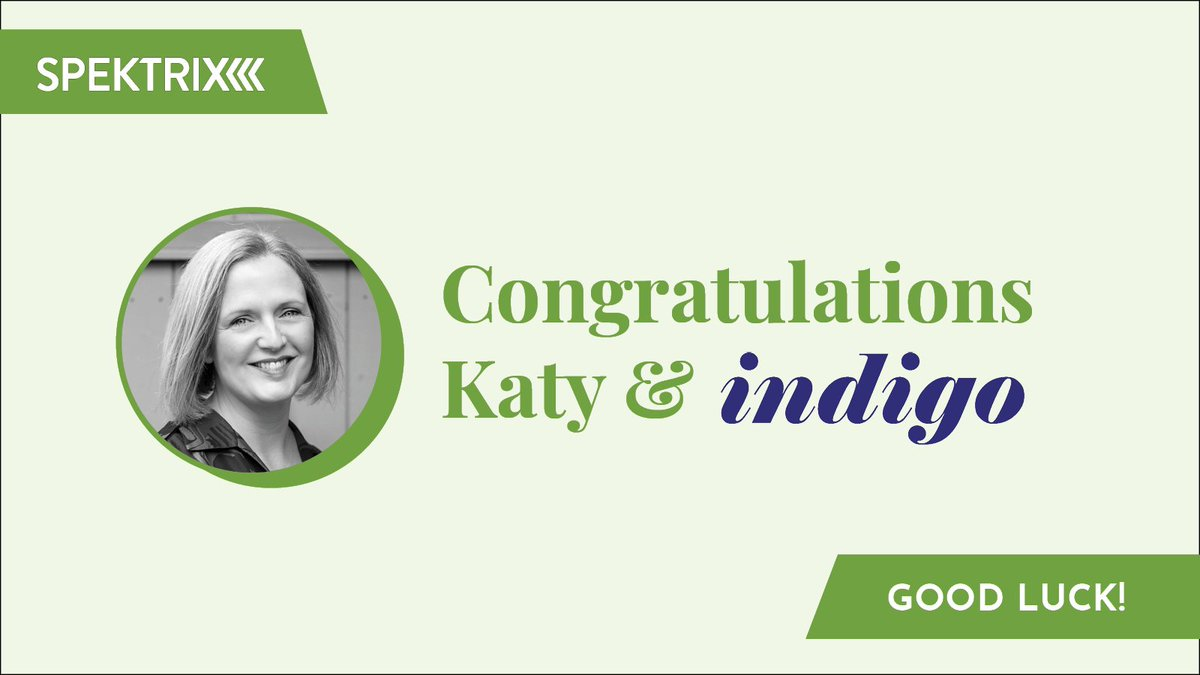 Congratulations to @katyraines and @indigoltd for being shortlisted in two categories at the #CovidResponseAwards, 'Best Pivot/Reinvention as a Result of Covid-19' and 'Outstanding Leadership during Covid-19', a well-deserved achievement!