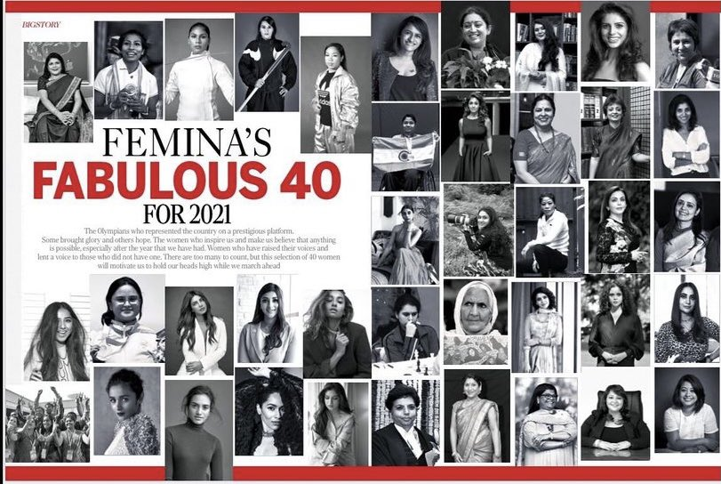 @BDUTT: What a fabulous group to be part of ! Thank you muchly for the honour @FeminaIndia @MissMuttoo #Fabulous40
