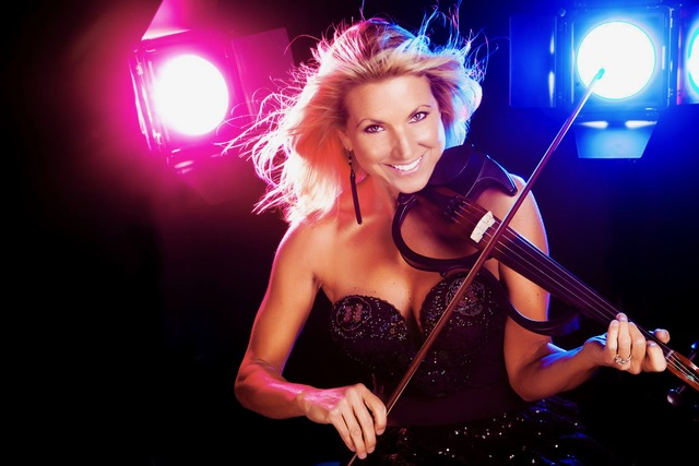 Come out for an exciting performance by violinist and fiddler Donna Wolf today at 5 PM by the Gyroscope! Visit ow.ly/SkYw50Ga6KL for more info.