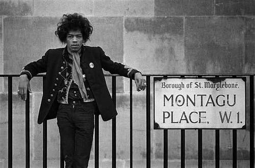 Jimi Hendrix in London, 1967