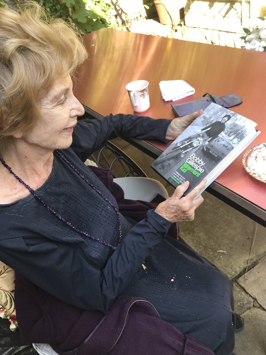 So proud that the great Edna O'Brien is reading #TenementKid