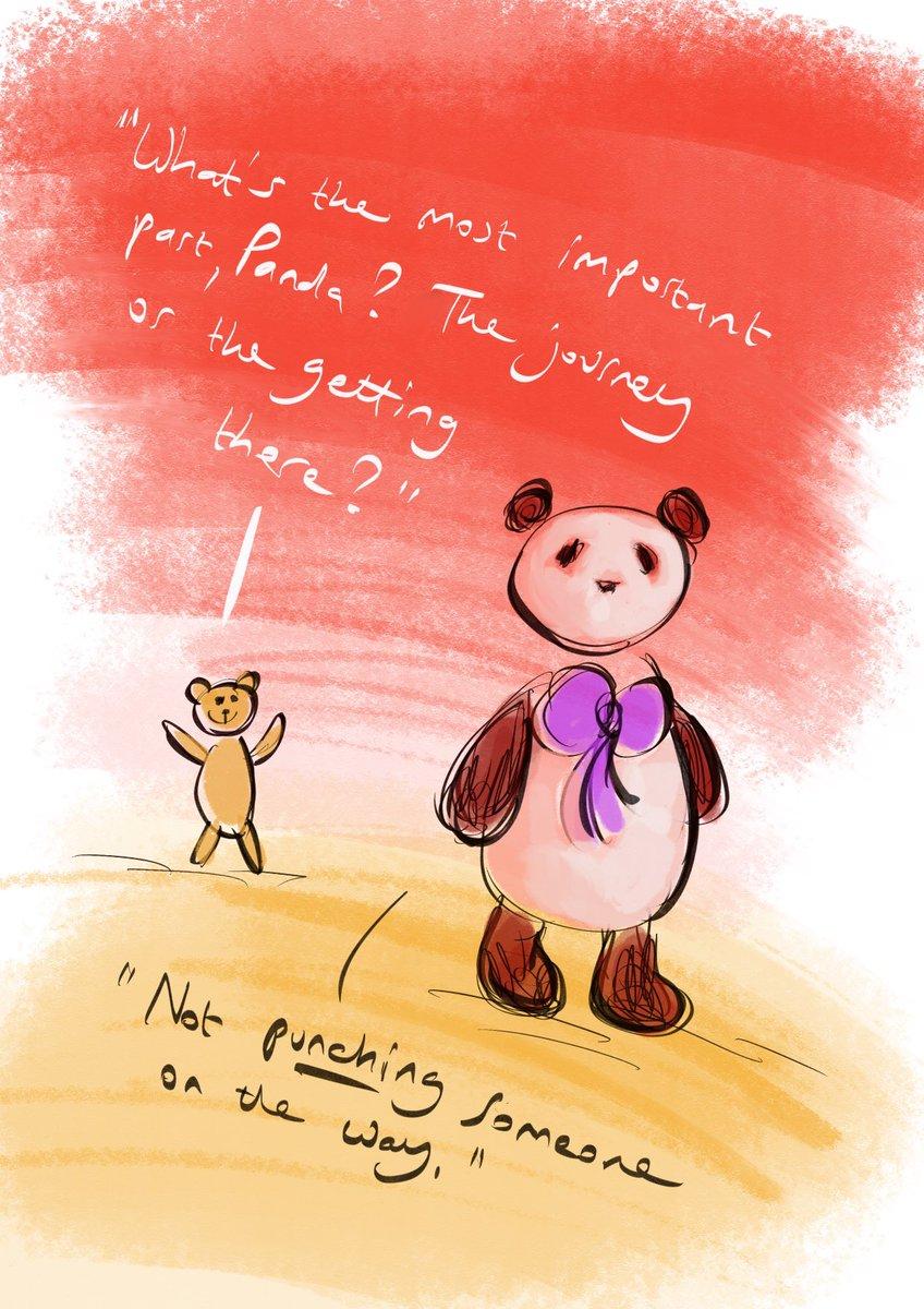 #pandacatdreadfulteddy