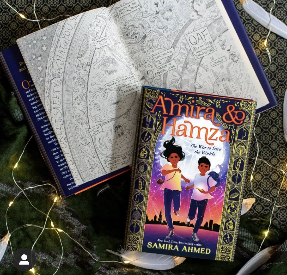Thank you all for the ❤️ for AMIRA & HAMZA on pub day. I am so touched by the kind words & well wishes. I know how lucky I am. No book arrives on shelves without having been championed by many, so special shout outs to the incredible teams @LittleBrownYR @NewLeafLiterary! 🙏🏾💜