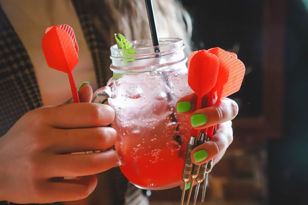 From darts to drinks, @localgastropub on The Square has it all!
