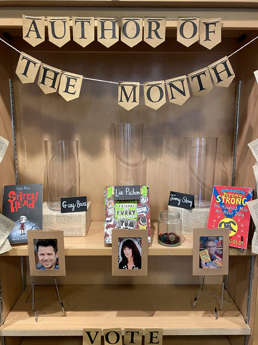 Our new display has already caused a stir! 📚Nothing like building the buzz before a reading assembly! What is it? That's new! I love their books! Cannot wait for Monday to share some of these amazing authors! 🤩