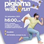 Image for the Tweet beginning: #notizie #sicilia Pigiama Walk&Run, al via