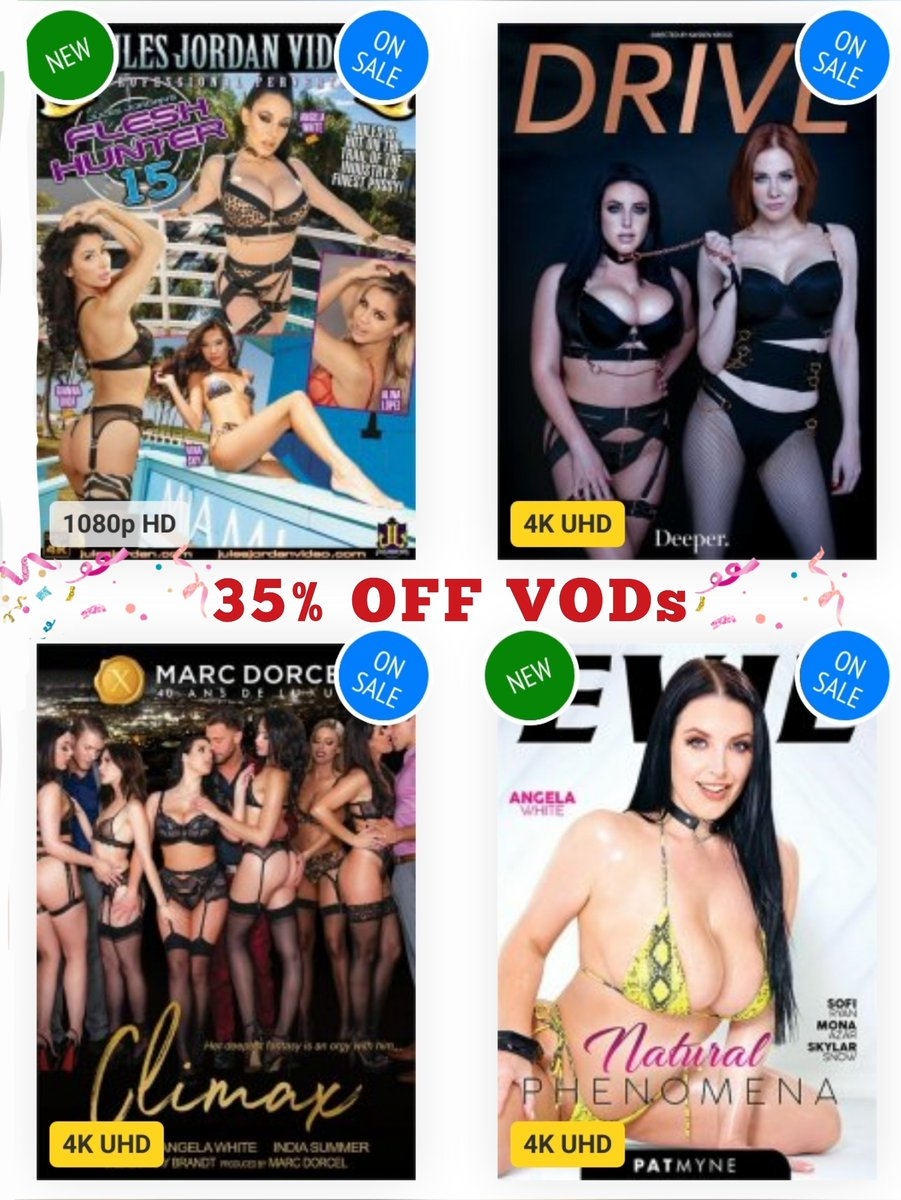 📣 Until 11.59pm ET, Sept. 22, get @adultempire's deal on @ANGELAWHITE VODs ⏳bit.ly/3nWhFeB⌛
