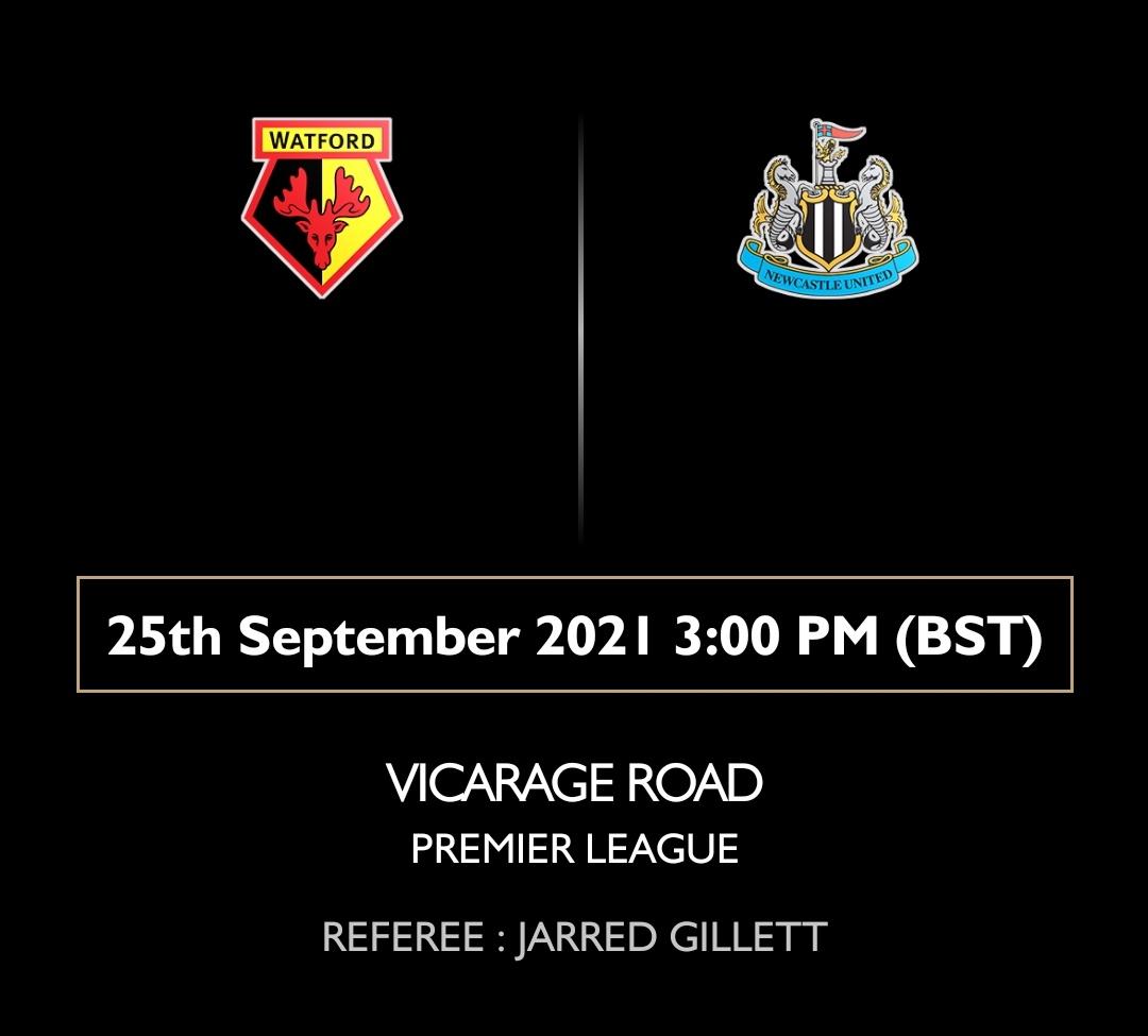 2018/19 sezonuna kötü bir başlangıç yapan Newcastle United, ligdeki ilk galibiyetini 11. haftada Watford karşısında almıştı.  Bu sezonki ilk galibiyetimizi de cumartesi günü yine bir Watford maçında elde edebilecek miyiz?  #NUFC