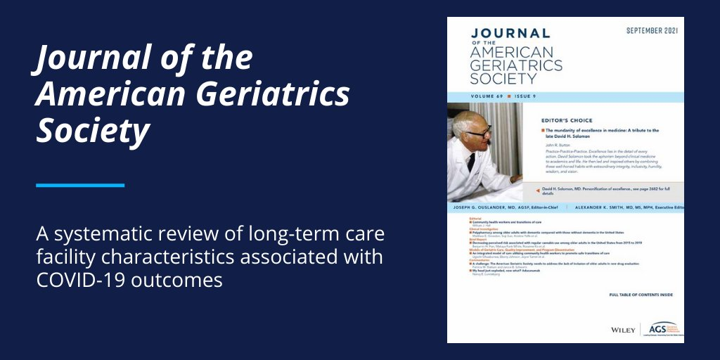 Why did some nursing homes have major COVID outbreaks & others not? Our review of 36 (!) published papers found larger bed size & location in area with high COVID prevalence were strongest & most consistent predictors of NHs having more COVID cases/deaths. https://t.co/a2XZoZNKZO https://t.co/rcpMxm75cw