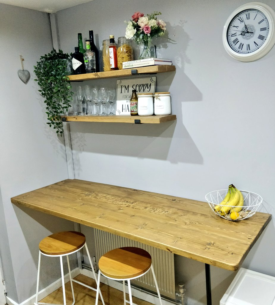 Looking good? New bar top for our kitchen! 😊 #kitchendesign