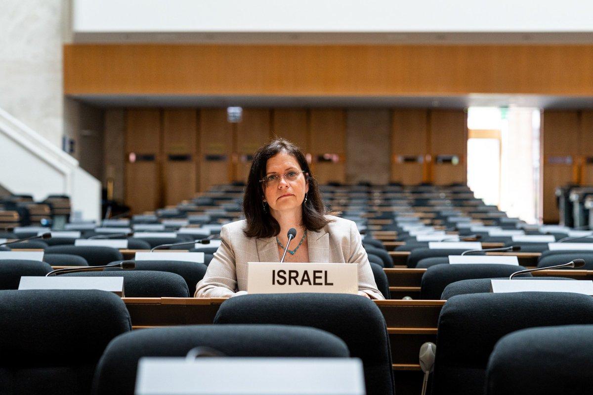 رحبت مندوبة اسرائيل  الدائمة لدى الأمم المتحدة في جنيف السفيرة ميراف إيلون شاحار