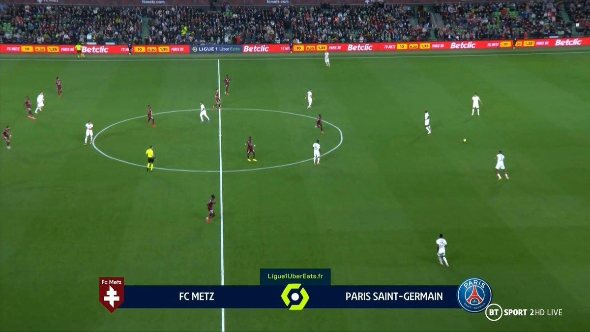 Full match: Metz vs PSG