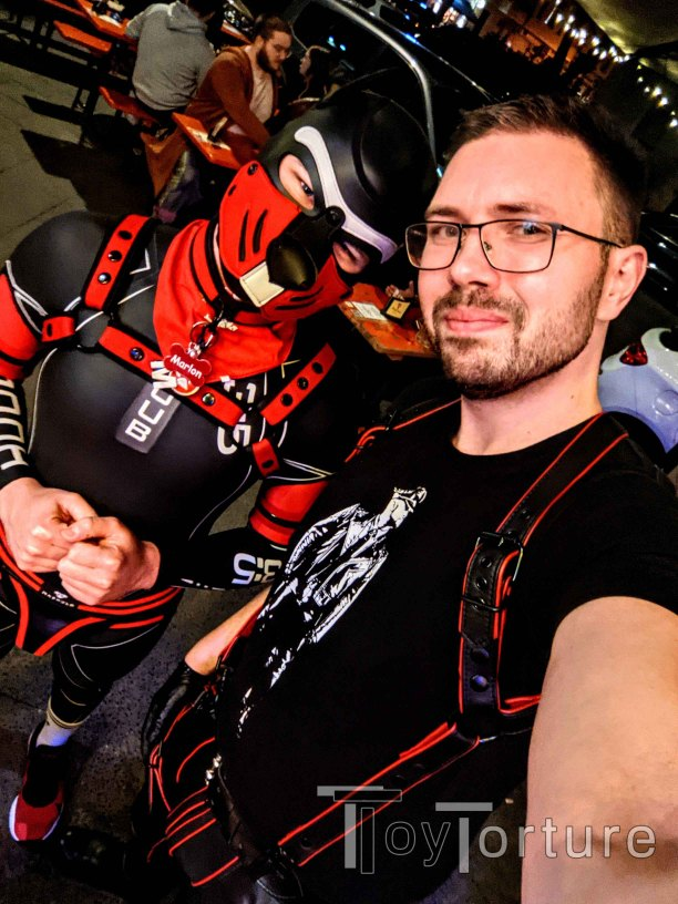 test Twitter Media - Had a fun evening at Prinzknecht where I got to meet the fun & cute @puppy_Marlon_ who seems very interested in @REGULATIONstore bondage gear. Might need to lure him into my playroom 😈 https://t.co/7J8yXRsdz0