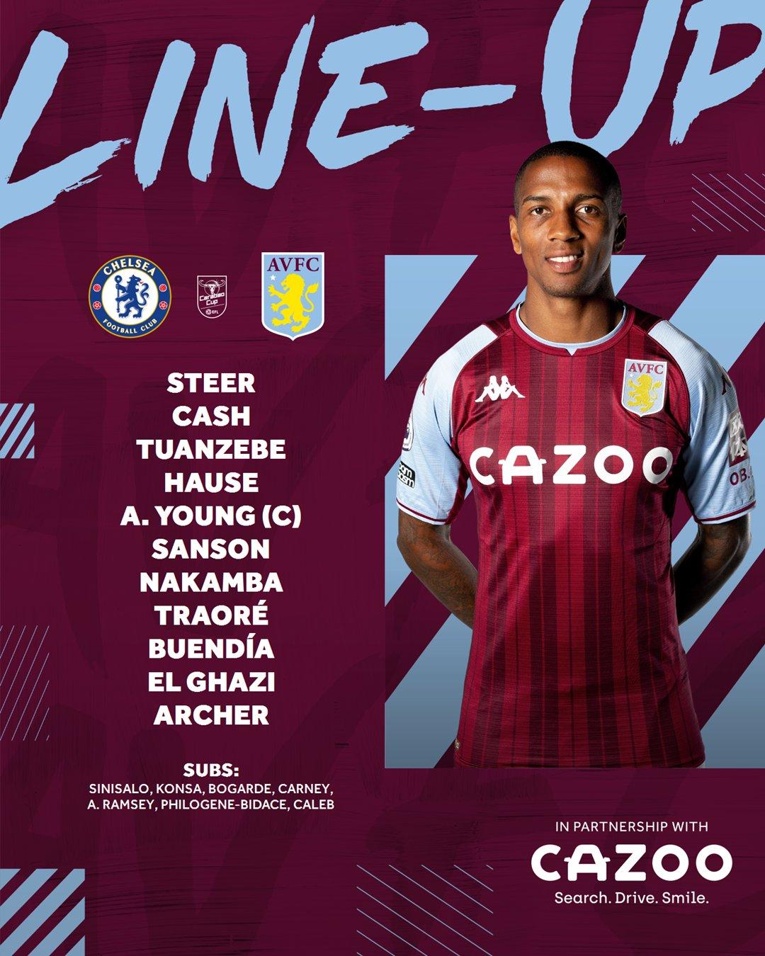 Carabao Cup: Watch Chelsea vs Aston Villa Live Here