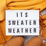 It's time to celebrate the first day of fall! Who else is excited for sweater weather?