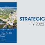 Image for the Tweet beginning: GDOT's Strategic Plan for FY22