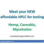 Check out our affordable HPLC for cannabinoids testing. https://t.co/DH1WCKCQ9x  #cbd #cb #CannabisMedicinal #cannabisindustry #hplc #testing #labtesting #cannabisculture #CannabisCommunity #CannabisNews #cannabinoids #USA #LatinAmerica #Australia #Europe #Hemp #hempoil #hplc