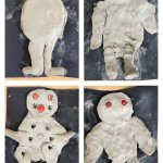 Image for the Tweet beginning: Hazel class made clay figures