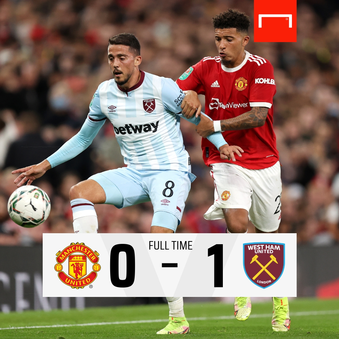 RT @GOAL_ID: Manchester United tersingkir dari Piala Liga Inggris ❌ https://t.co/xMzU2kOtTG