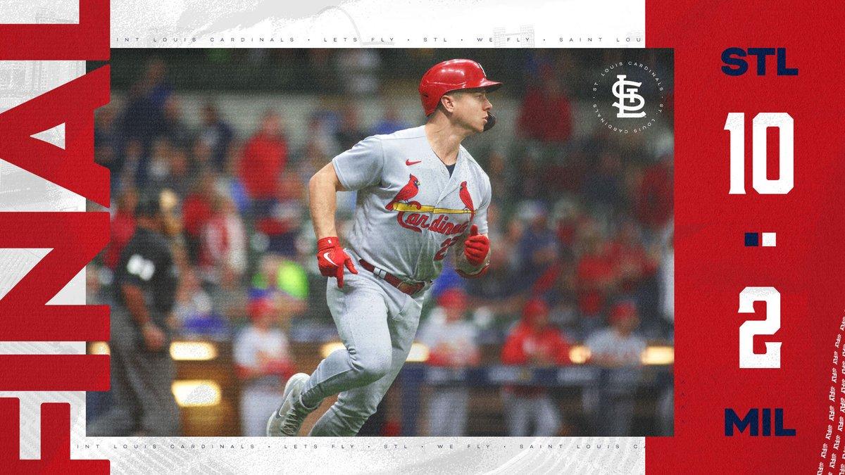 RT @Cardinals: #THATSAWINNER 👏👏👏  #THATSASERIESWINNER 👏👏👏 https://t.co/157uV6P42e