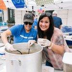 Image for the Tweet beginning: Galveston Island Shrimp Festival (THIS
