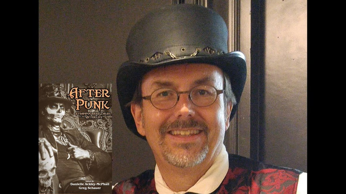 """The #eSpecBooksAuthorReadingSeries presents @davidleesummers reading a brief excerpt from """"The Sun Worshipper"""" from #AfterPunk https://t.co/fY9iKntqMP  #AuthorReadings #excerpt  #fantasy #steampunk #paranormal @YouTube #YouTube @DMcPhail"""