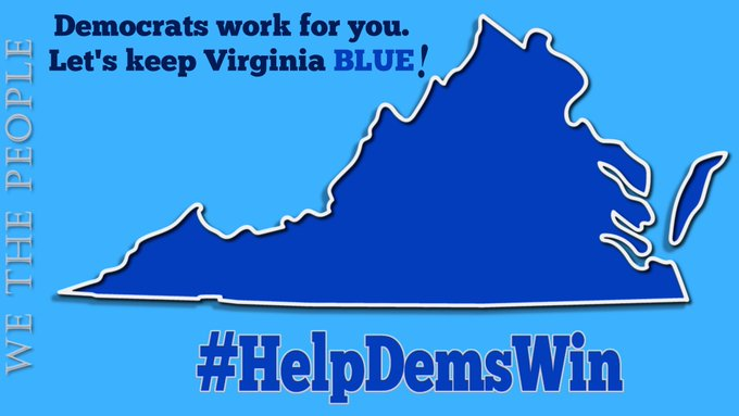 Early voting for the #Virginia elections has started  On the ballot  🗳️Defeating COVID 🗳️VA's economy 🗳️Reproductive rights 🗳️LGBTQ+ protections 🗳️Infrastructure  … And so much more!  Get registered, vote, & get everyone you know to vote 🌊Democratic🌊  #wtpBLUE @wtpBLUE https://t.co/RsFqXNGHnG