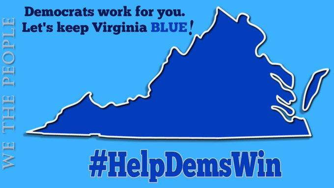 Ha comenzado la votación anticipada para las elecciones #Virginia  En la boleta electoral  🗳️ Defensar COVID Economía de 🗳️ VA 🗳️ Dereos reproductivos protecciones 🗳️ LGBTQ+ 🗳️ Infraestructura  ¡Y mucho más!  Inscrótese, vote y haga que todos los que conoce voten 🌊BLUE  #wtpBLUE https://t.co/b3LqSjG5No