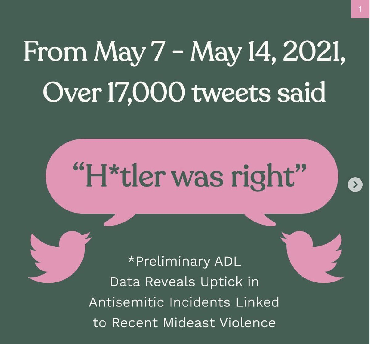 important, brief thread on antisemitism that only takes a couple minutes to read. educate yourselves!