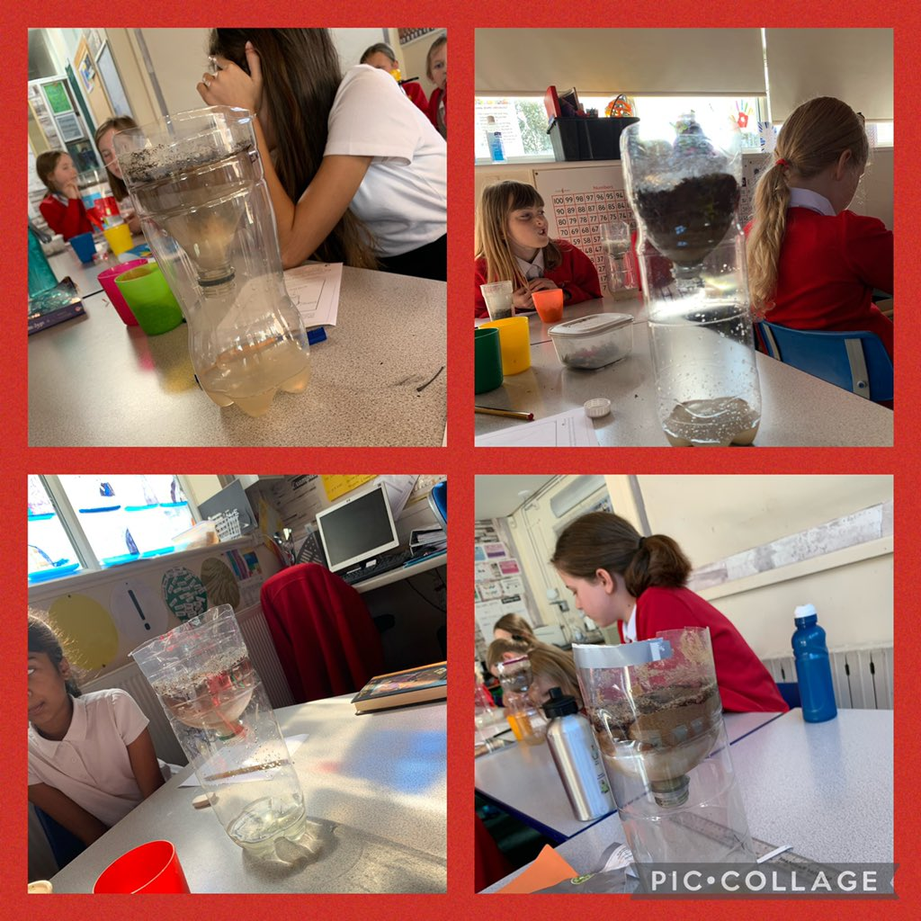 @SthStaffsWater virtually visited us today to support our science and geography learning with a brilliant practical session filled with lots of vocabulary we can go on and use in explanation and instruction texts.