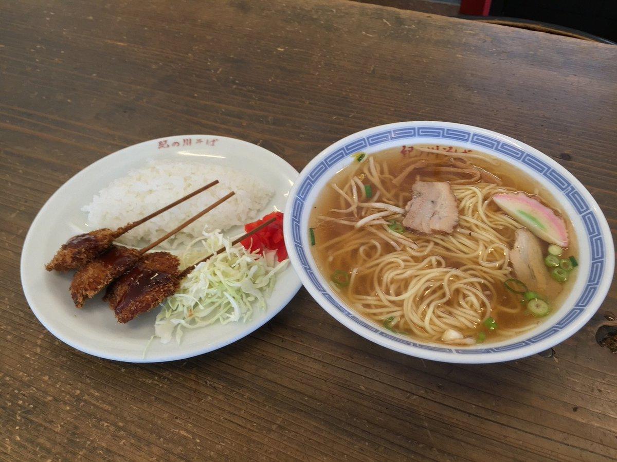 和歌山ラーメンではない中華料理店の安定感抜群で大人気のラーメンと串かつ!(和歌山県和歌山市東家)  #tabelog