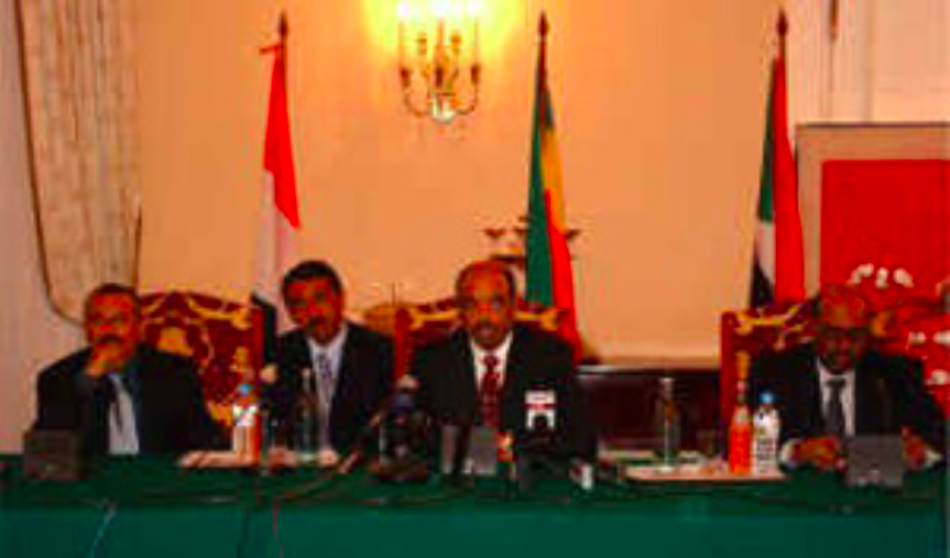And where are the 3 co-conspirators of the anti-#Eritrea Sanaa Axis of Belligerence formed 20 years ago? #Ethiopia's #TPLF tyrant Meles Zenawi: dead. #Yemen's Ali Abdallah Saleh: dead. #Sudan's Omar Bashir: deposed, in jail & soon to be tried at @IntlCrimCourt. #EritreaPrevails