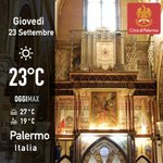 Image for the Tweet beginning: Buongiorno #Palermo