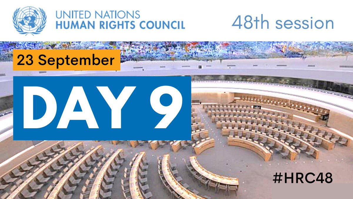 🔵 TODAY at #HRC48 •UN Human Rights chief @mbachelet on #Myanmar •@UNCHRSS on #SouthSudan •@UNCoISyria on #Syria •Commission of Inquiry on #Burundi ℹ️ ow.ly/tI5950G7OOZ 📺 media.un.org/en/webtv/
