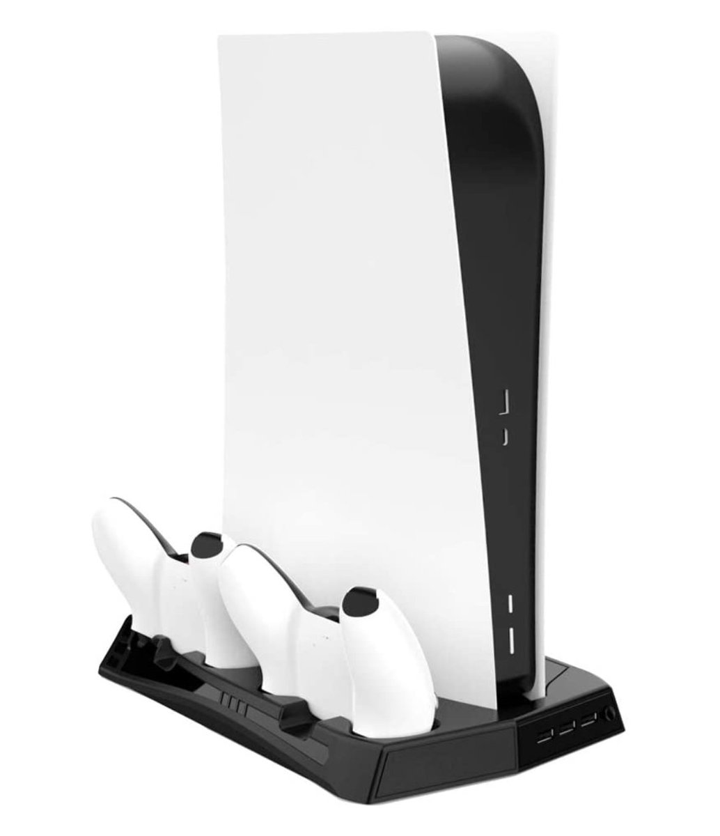 PS5 Vertical Stand, Black Fits both PS5 models $18.99 Amazon
