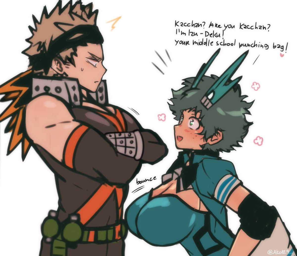 'I reconnected with my childhood friend and we both had big tits' ver BakuFemDeku💥♀🥦 Feat. PH!Kacchan x Magical Girl!Deku chan  Deku chan's personality is so twisted! Kacchan completely break her mind and heart in middle school! BUT no worries 'cause Deku chan met an angel☆!+