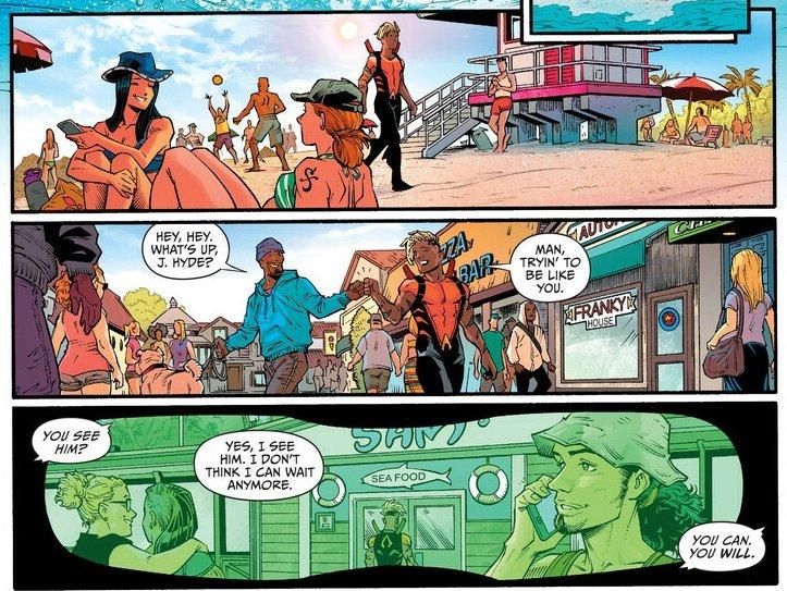 [閒聊] 美漫Aquaman出現疑似草帽團成員