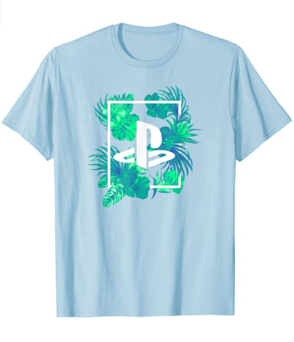 PlayStation Jungle T-Shirt  Officially Licensed $21.99  Amazon