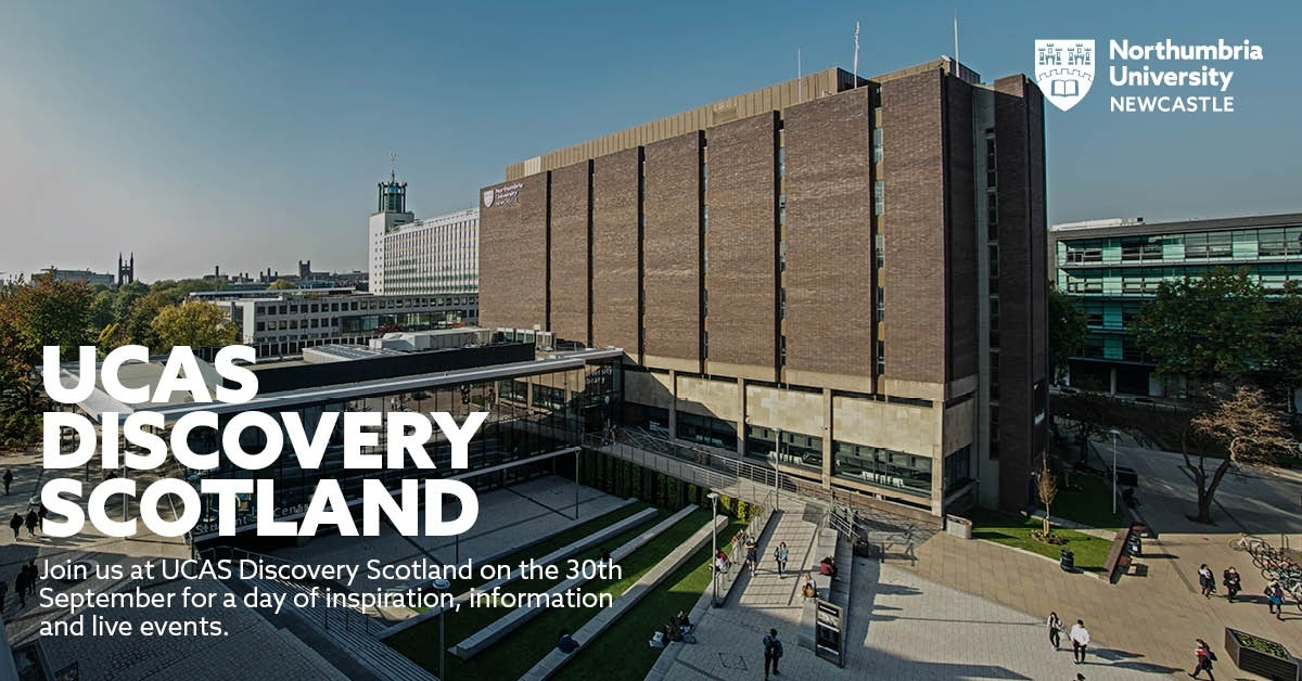 Join us at UCAS Discovery Scotland on the 30th September for a day of inspiration, information and live events. Book now https://t.co/XQSnwKlfY4 #UCAS #UCASDiscoveryScotland #VirtualEvent https://t.co/1VhegSyG3a