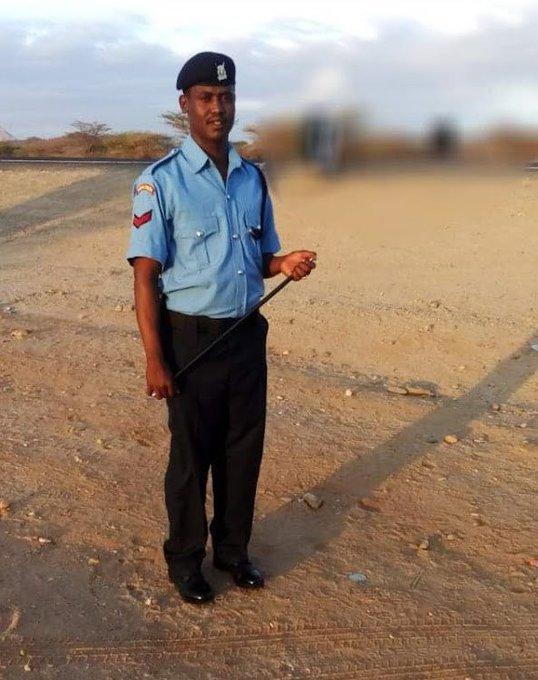 Sergeant Osman Godana, a former GSU Training School officer,