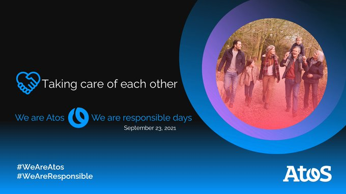 On the last day from #WeAreAtos #WeAreResponsible days, we will focus on how to...