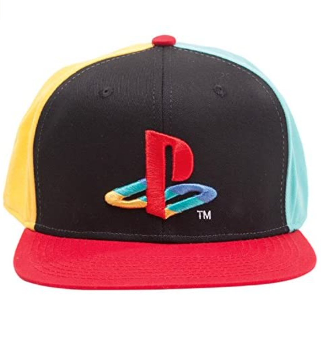 PlayStation Classic  Official Original Coloured Logo Black Snapback Cap $28.59 Amazon