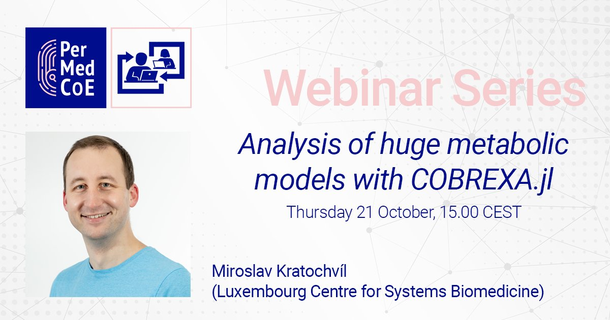 📢A few hours left to register to our second webinar! #computationalbiology #Software #tools #singlecell #personalizedmedicine @__exa__  @uni_lu @BSC_CNS @EBItraining