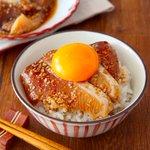 漬けダレもご飯+卵黄で美味しく消費出来ちゃう?!特製胡麻ダレで作る、お刺身の漬けレシピ!