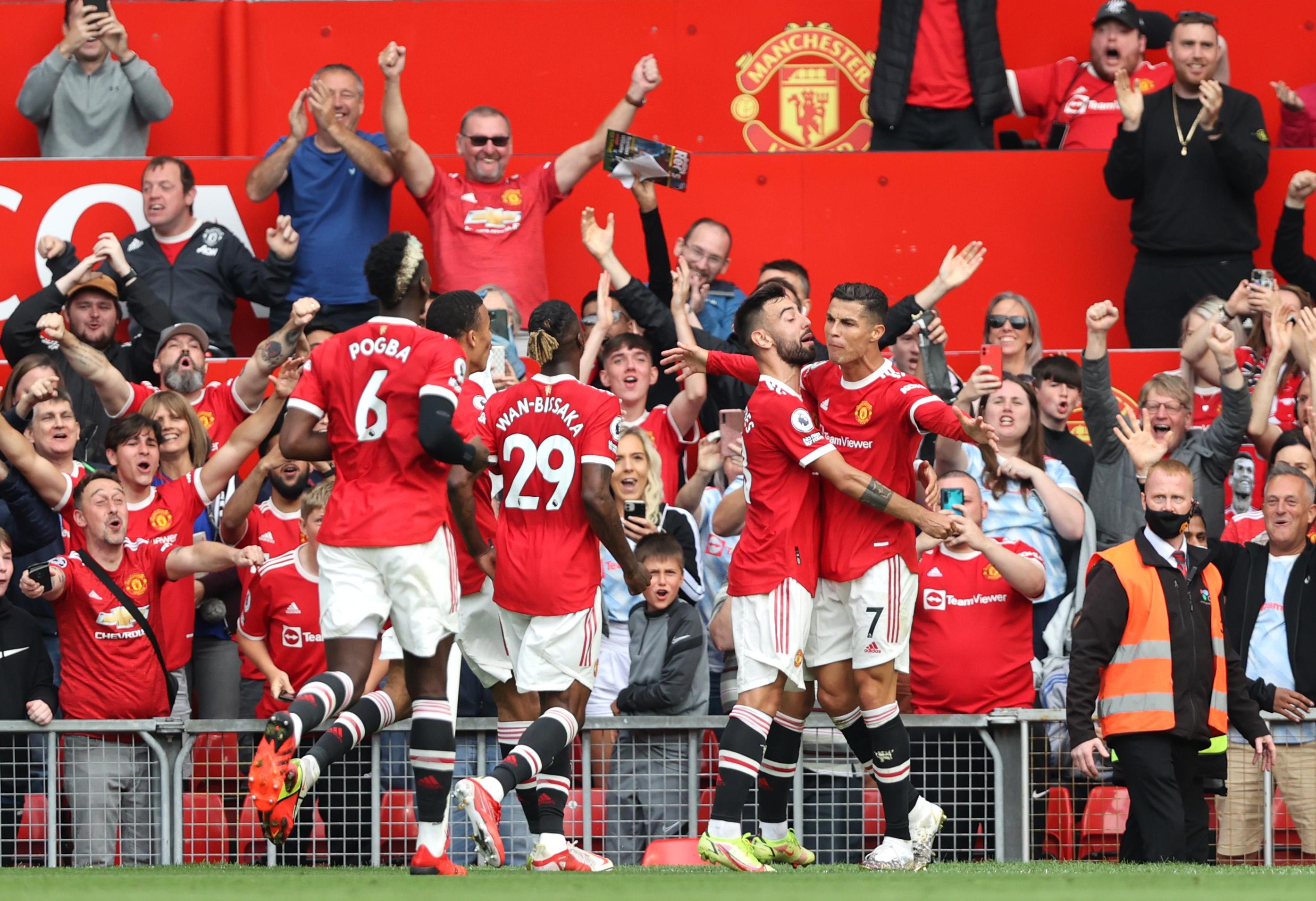 Manchester United vs Newcastle 3-1 Premier League 2021-2022